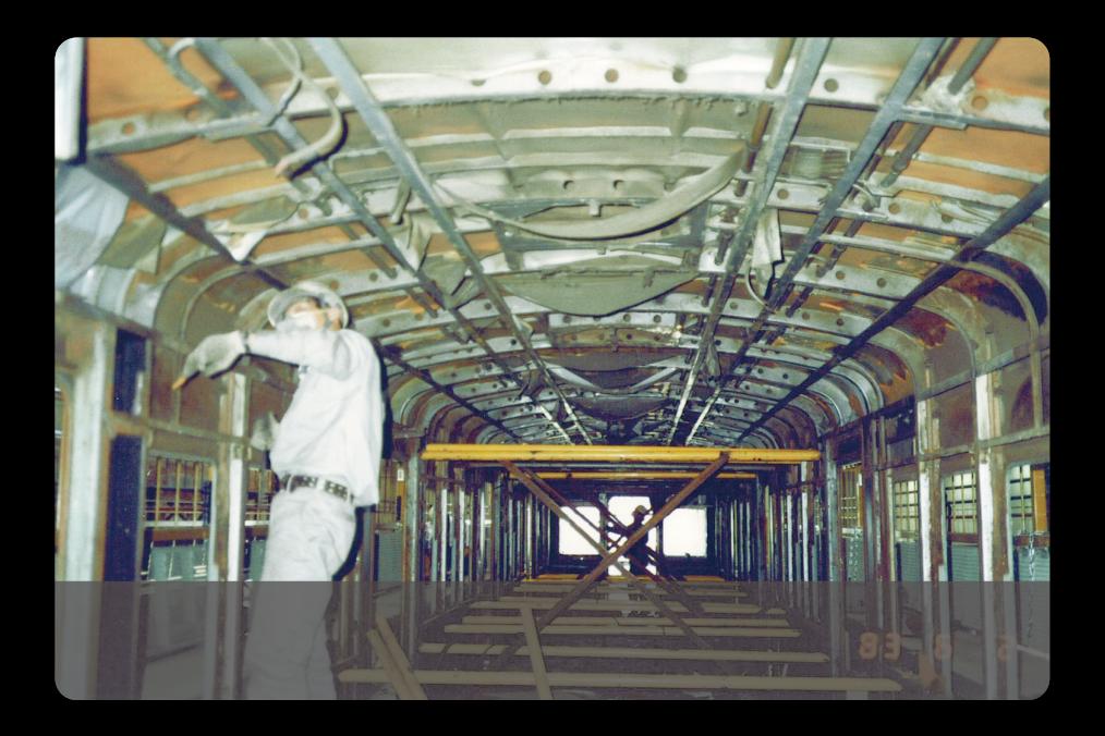 鉄道車両更新工事