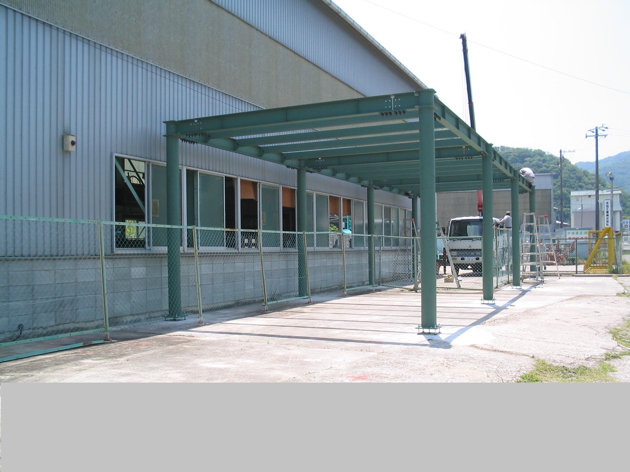 工場架台の設計・製作・施工