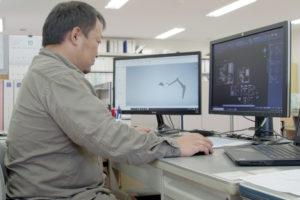 遊戯機械事業の設計作業