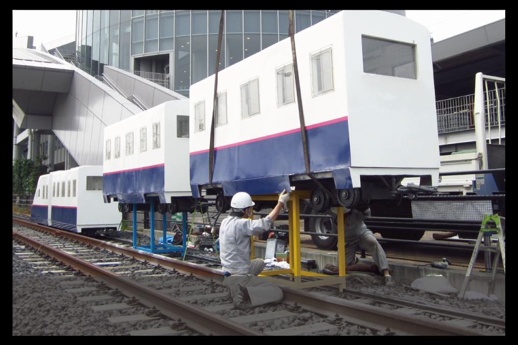 遊戯機械や鉄道車両関連部品の製作・施工